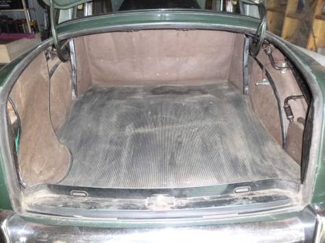1955 Rover 90 boot