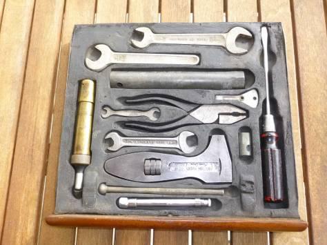 1955 Rover 90 tool tray
