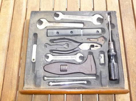 1959 Rover 105 tool tray