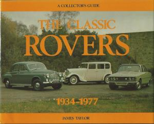 Classic Rovers 1934-1977 James Taylor