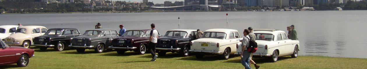 Rover P4 & P5 Australia