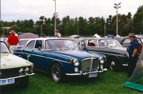 DSC_0002 1970 Rover 3.5 Litre Coupe Canberra 8-2-1998