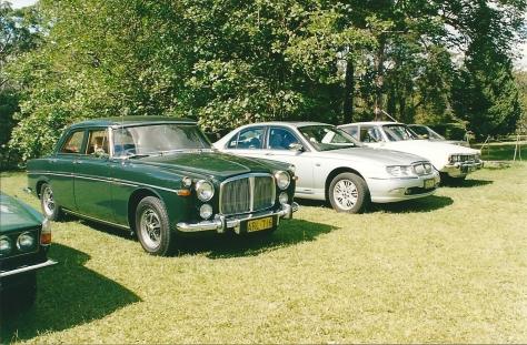 DSC_0003 1969 Rover 3.5 Litre Saloon Bruce Duncan Faulconbridge 5-4-2003