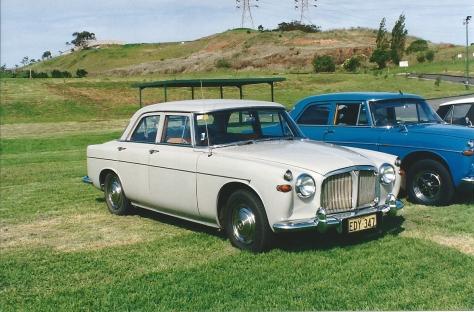 DSC_0004 1965 Rover 3 Litre Mk2 Saloon Kembla Grange 15-1-1995