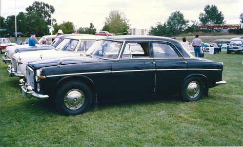 DSC_0006 1966 Rover 3 Litre Mk3 Saloon Braddon ACT 10-2-1991