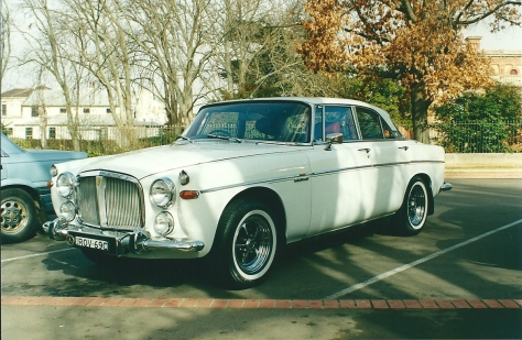 DSC_0006 1969 Rover 3.5 Litre Coupe Robbie Broad Goulburn 30-6-2001