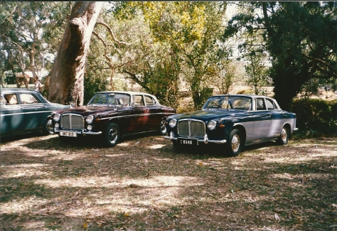 DSC_0010 Rover 3.5 Litre Coupe & 3 Litre Mk2C Coupe Birdwood SA 29-3-1986