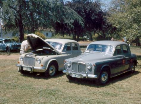 DSC_0015 1954 Rover 90 + 1960 80 Telopea Park Canberra 27-11-1977