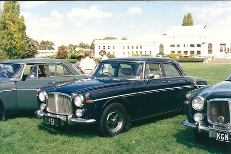 DSC_0017 Rover 3.5 Litre Saloon Canberra ACT 2-4-1994