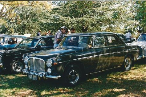 DSC_0025 Rover 3.5 Litre Saloon Weston park Yarralumla ACT 2-4-1994