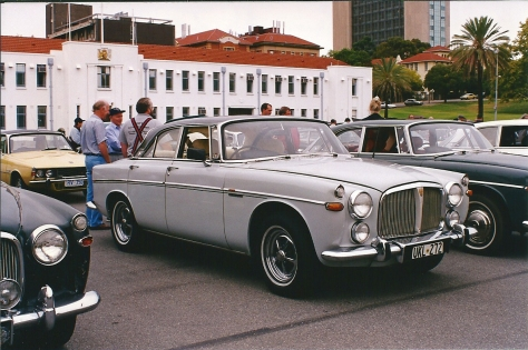 DSC_0027 1969 Rover 3.5 Litre Coupe Torrens Parade Ground Adelaide SA 11-4-1998