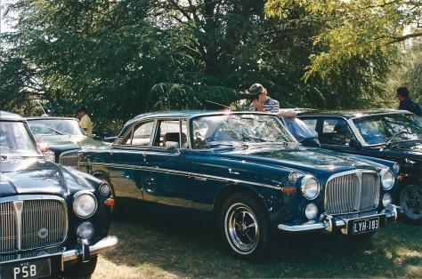 DSC_0027 Rover 3.5 Litre Coupe Weston park Yarralumla ACT 2-4-1994