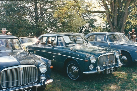 DSC_0028 Rover 3 Litre Mk3 Saloon Weston Park Yarralumla ACT 2-4-1994