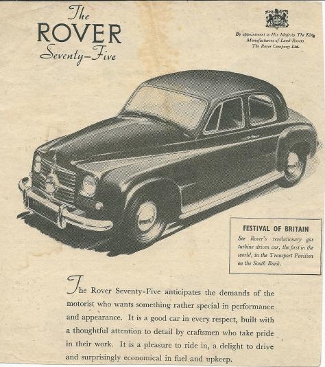 DSC_0030 Rover 75 P4 Ad circa 1951