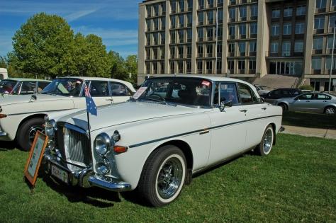 DSC_0034 1969 Rover 3.5L Coupe John Lyne Canberra 16-3-2008