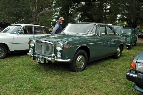 DSC_0041 1966 Rover 3 Litre Mk 3 Coupe Alan Roberts Canberra 25-3-2012
