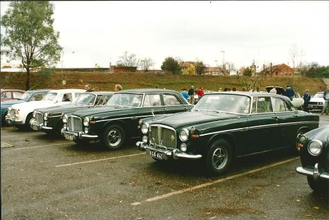 DSC_0059 Rover P5B Coupes & Saloon Wagga Wagga 9-6-1991