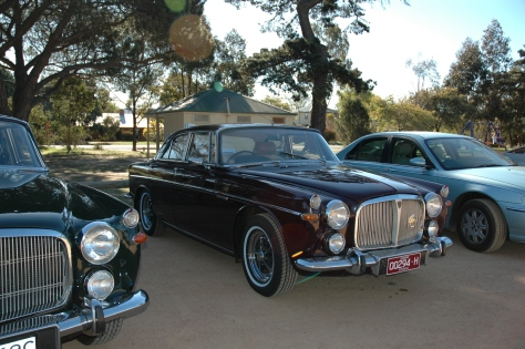 DSC_0518 Rover 3.5L Coupe - Bungendore 30-9-2006