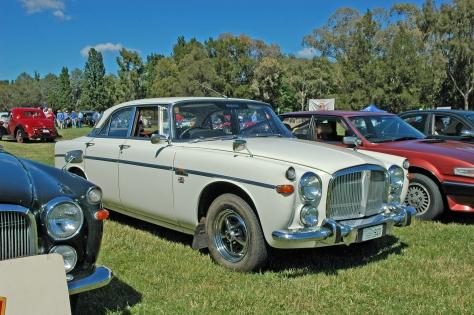 DSC_0538 1971 Rover 3.5 Litre Coupe Paul Bray Canberra 7-12-2008