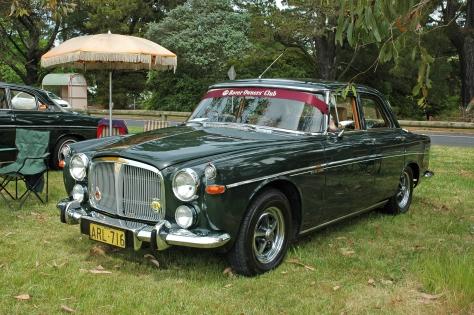 DSC_0539 1969 Rover 3.5L Saloon Bruce Duncan Highlands Motorfest 28-10-2007