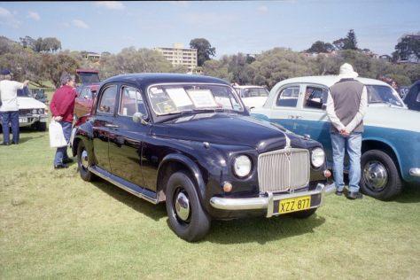 Img0070 1955 Rover 75 Perth WA 25-9-2004