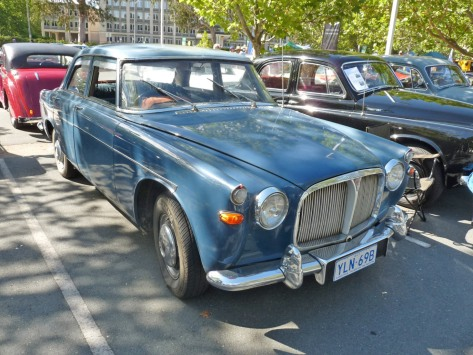 P1130120 Rover 3 Litre Mk1 Saloon Canberra 12-3-2017