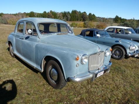 P1130442 1957 Rover 90 Womboin 20-5-2017