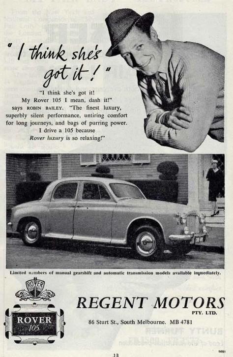 P4 105 Regent Motors