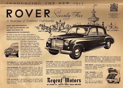 P4 75 Regent Motors