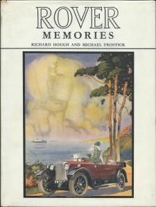 Rover Memories - Richard Hough & Michael Frostick