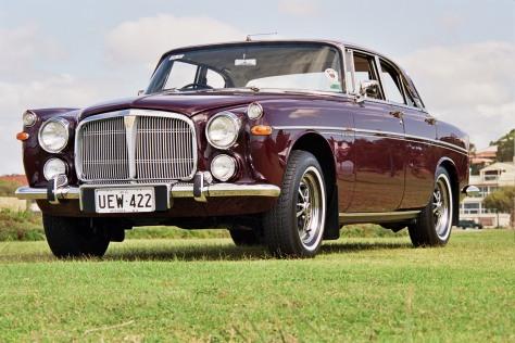 UEW422 250904 1969 Rover 3.5 Litre Coupe Perth WA 25-9-2004