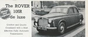 DSC_0020 Rover 105R de Luxe Road Test 1957 Title image